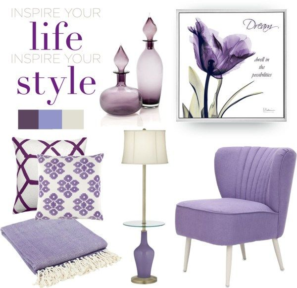 Purple inspiration for the home