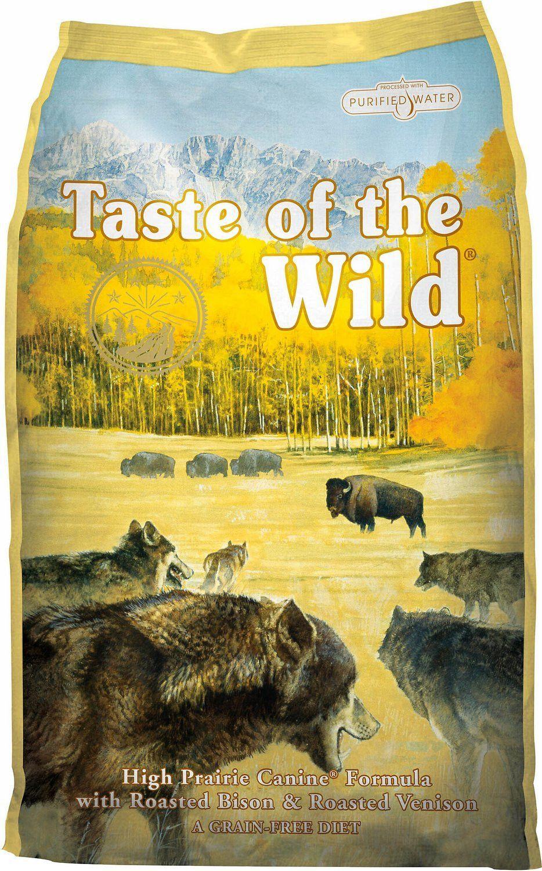 Taste of the wild high prairie canine formula dry dog