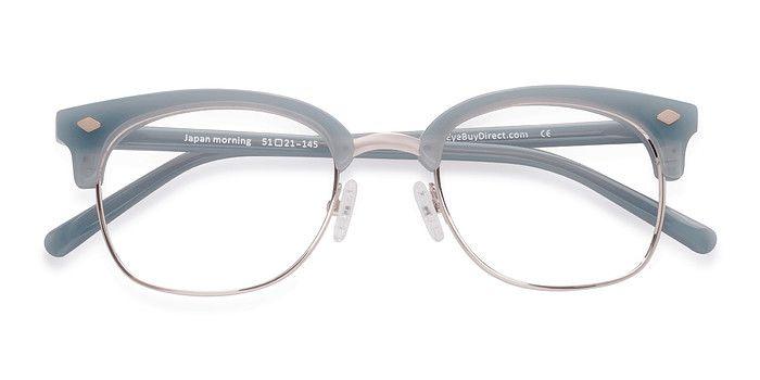 2e6b1eb9af3c Blue Japan Morning - Designer Acetate Eyeglasses