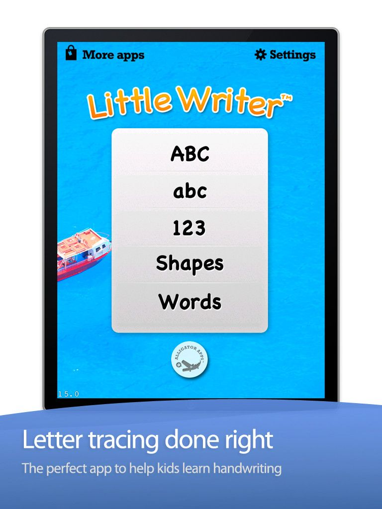 Letter Tracing Apps.Little Writer Trace Letters Numbers Words And Shapes