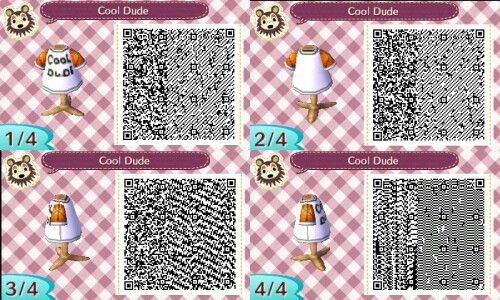 Papyrus Cool Dude Alternate Suit From Undertale Qr Code For Animal