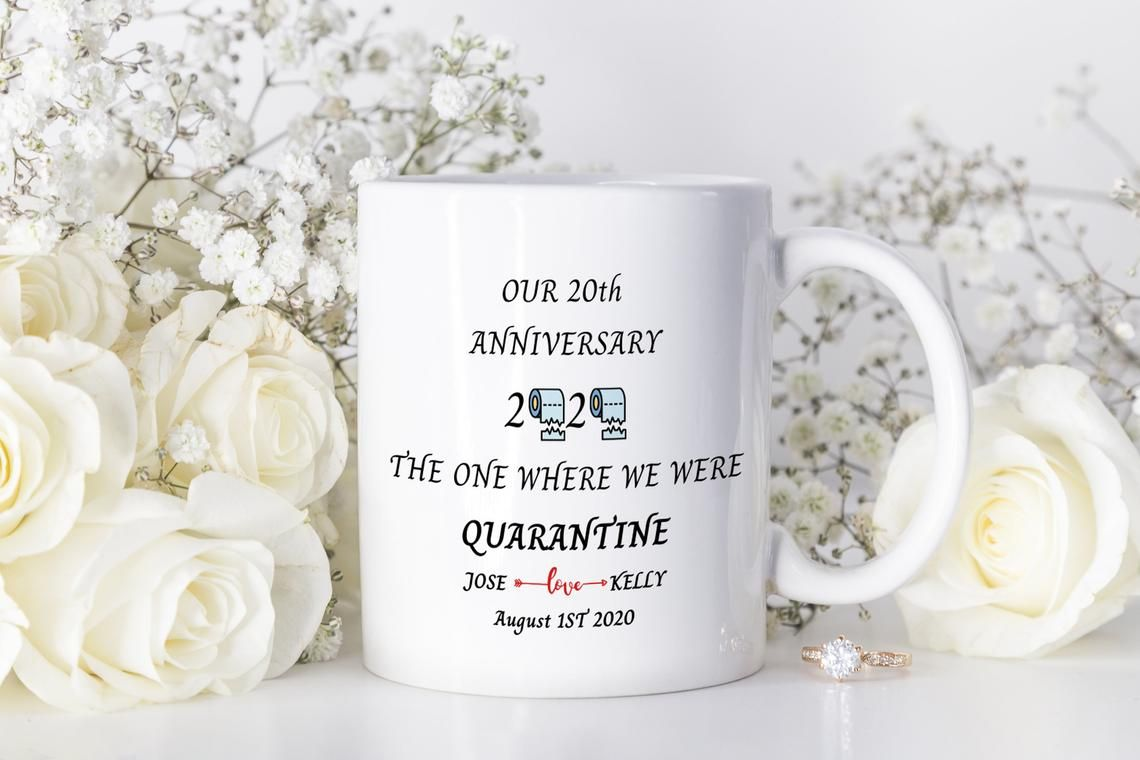 20th anniversary gifts for wife from husband the one where
