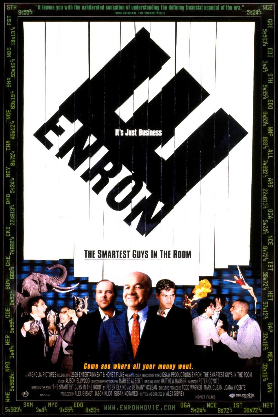 Enron The Smartest Guys in the Room Movies, Movie