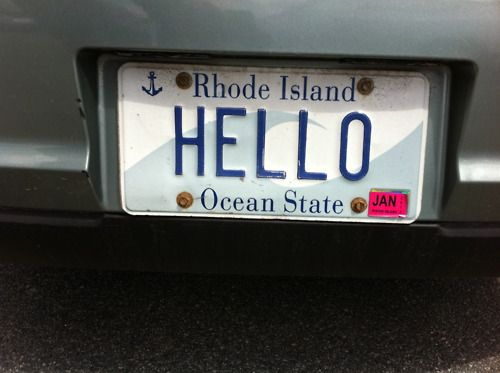 Smart Blonde My Husband Has Awesome Wife License Plate Tag Sign