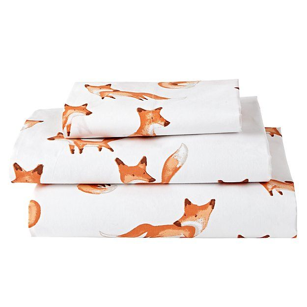 Organic Fox Twin Sheet Set Sheet Sets Queen Twin Sheet Sets