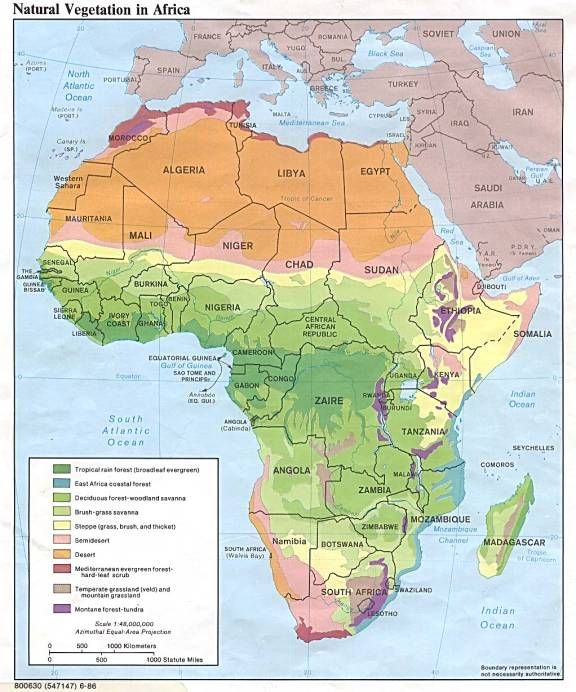 Africa Vegetation Map further Heat Index Chart likewise ...