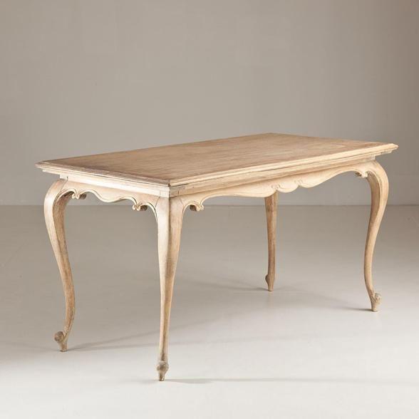 Talisman A French Cabriole Leg Rectangular Table circa 1850