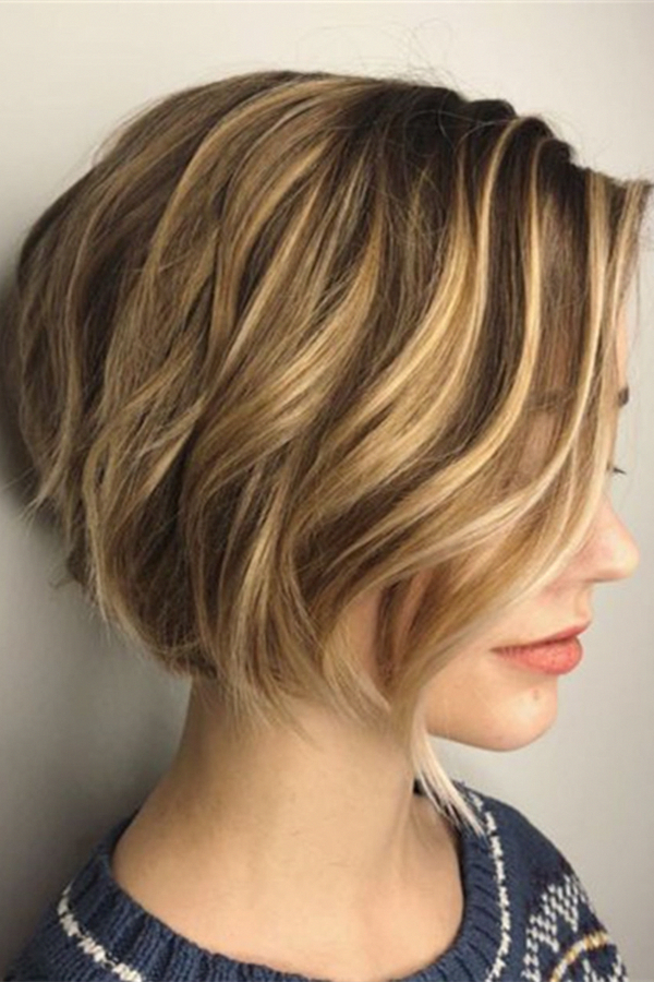 27 Angled Bob Hairstyles Trending Right Right Now For 2019 In 2020 Frisuren Bob Frisur Dickes Haar Bob Frisur