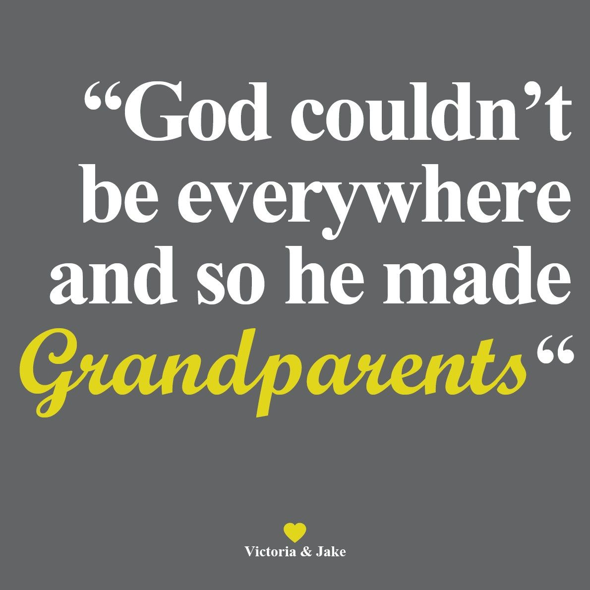This week is grandparents week. Be sure to tell your