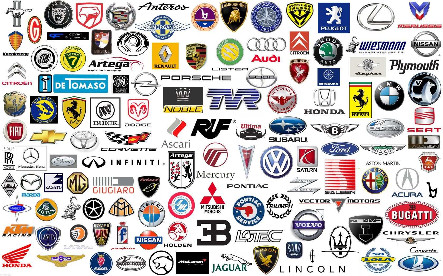car logos and names free pictures, images car logos and names ...