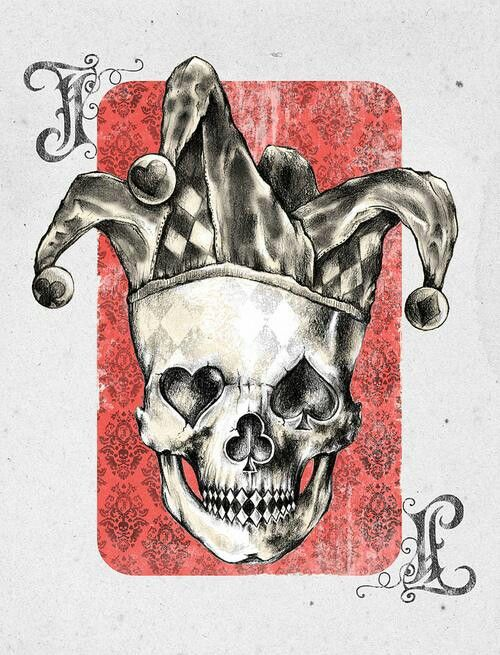Pin By Travis Quance On Playing Cards Pinterest Dessin Tatouage