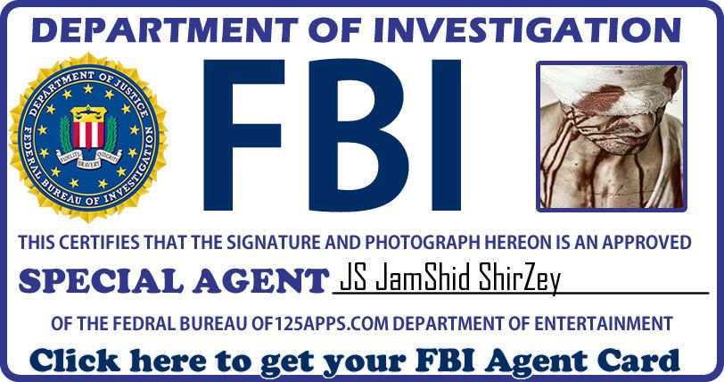 Get Your Fbi Agent Id Card Now Fun Apps Yes Fbi Agent Fbi
