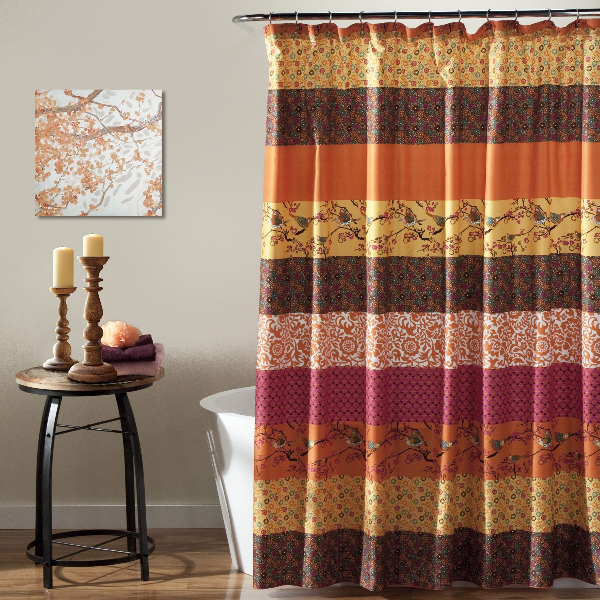 loading ilivsuritangerine tangerine suritangerine collection curtain iliv curtains fabrics suri fabric z hummingbird zoom