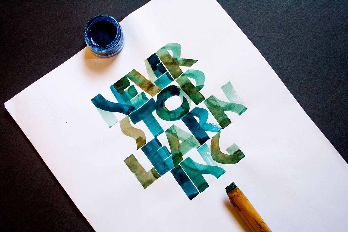 Neuland Calligraphy Workshops in Melbourne by Maria Montes.