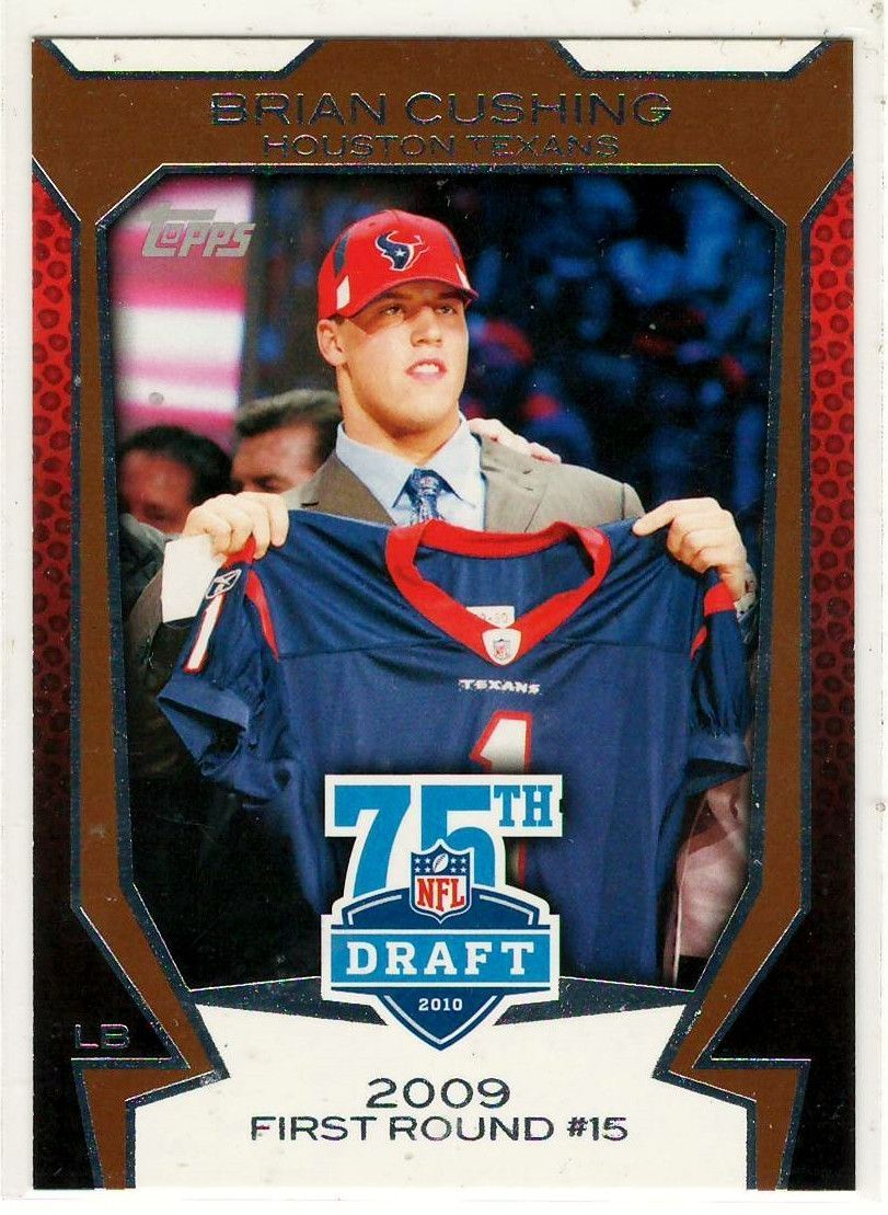Sports Cards Football 2010 Topps (NFL 75th Draft) Brian