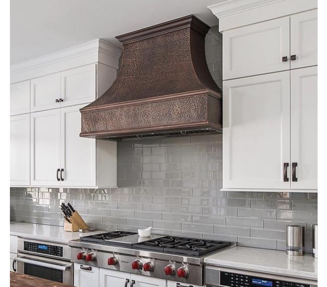 Traditional Copper Range Hood Wall Or Island Mount Interior Design Kitchen Kitchen Design Kitchen Hoods