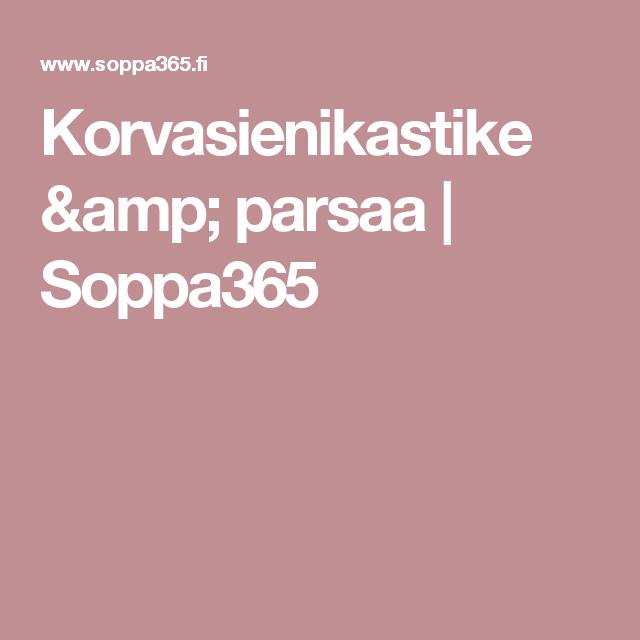 Korvasienikastike & parsaa | Soppa365