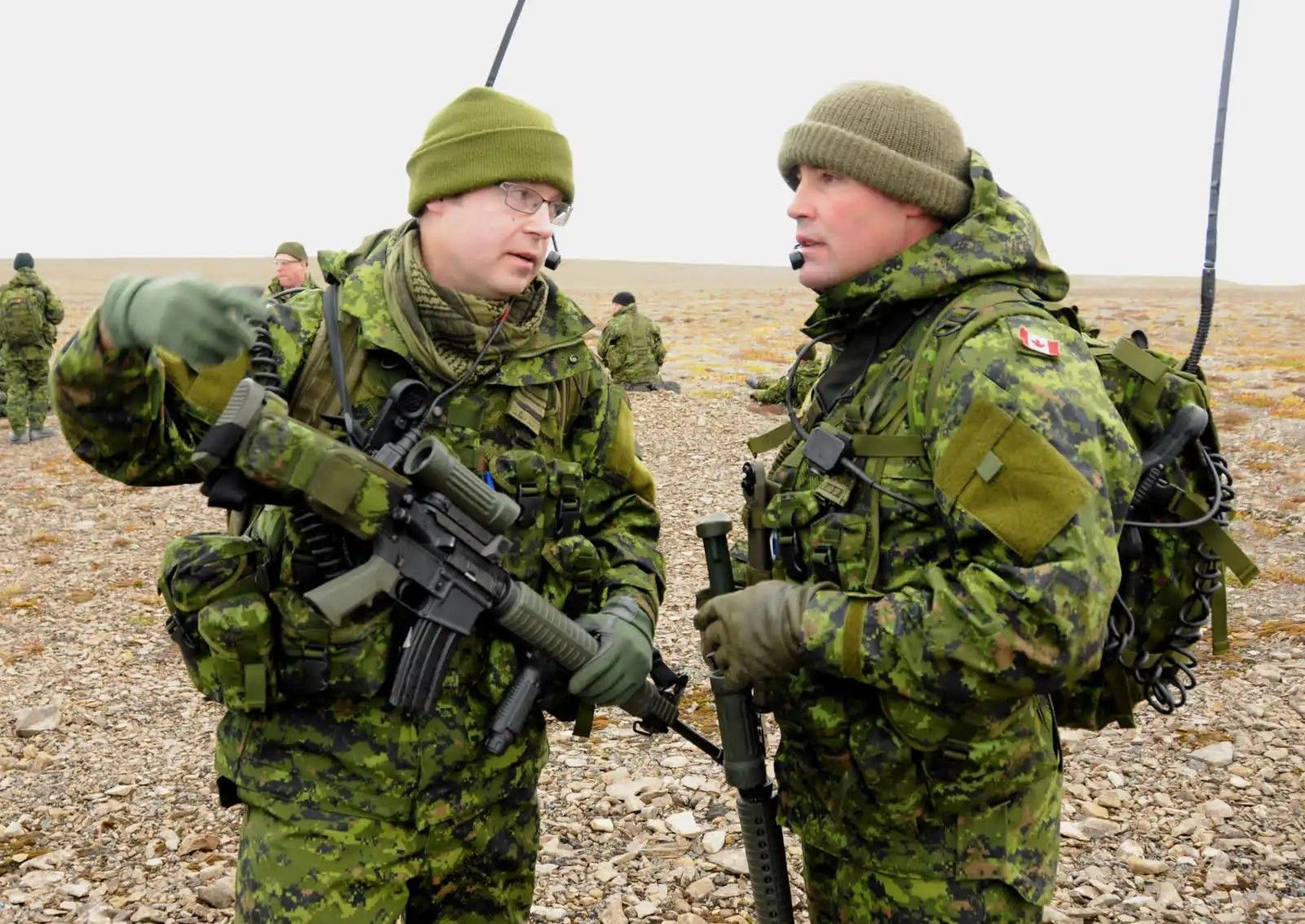 Canadian Special Forces Uniform - Year of Clean Water
