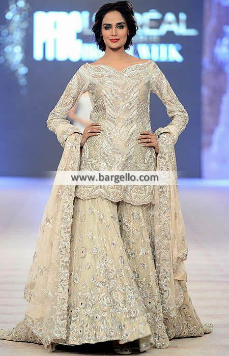 Pakistani Bridal Wear Paris France Bridal Sharara