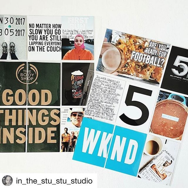 Hello. Thank you @in_the_stu_stu_studio for sharing your layout using my weekly insert cards! This is amazing!!