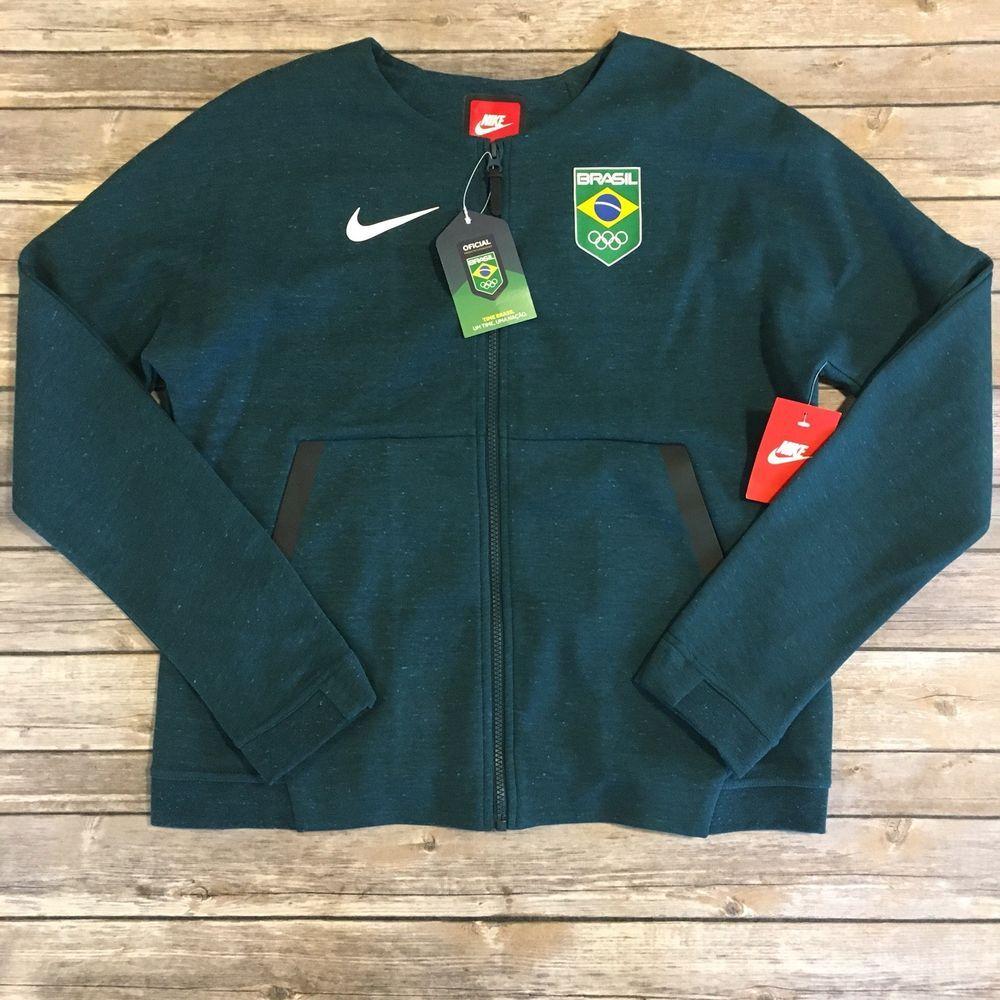 Nike Jacket Womens Medium M Olympics Sportswear Tech