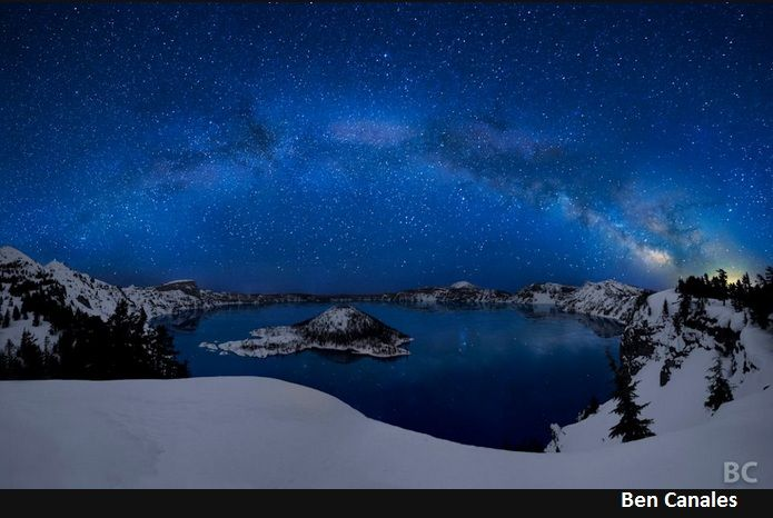 Crater Lake by: Ben Canales    STUNNING!