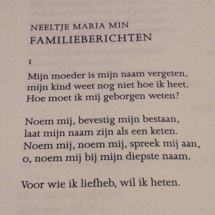 Neeltje Maria Min Gedichtendag Gedichten Woorden En