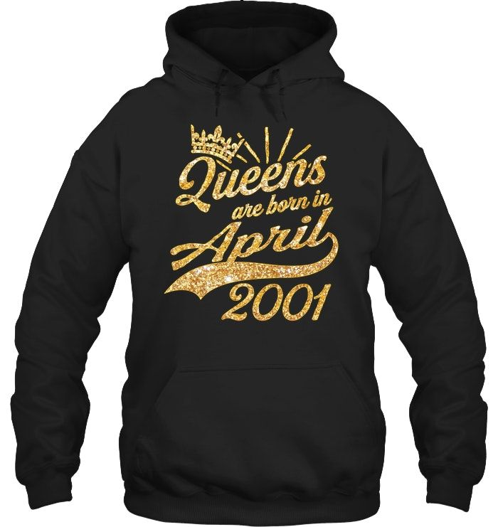 Queens born in April 2001 17th Birthday Gift 17 years old.png #17thbirthday