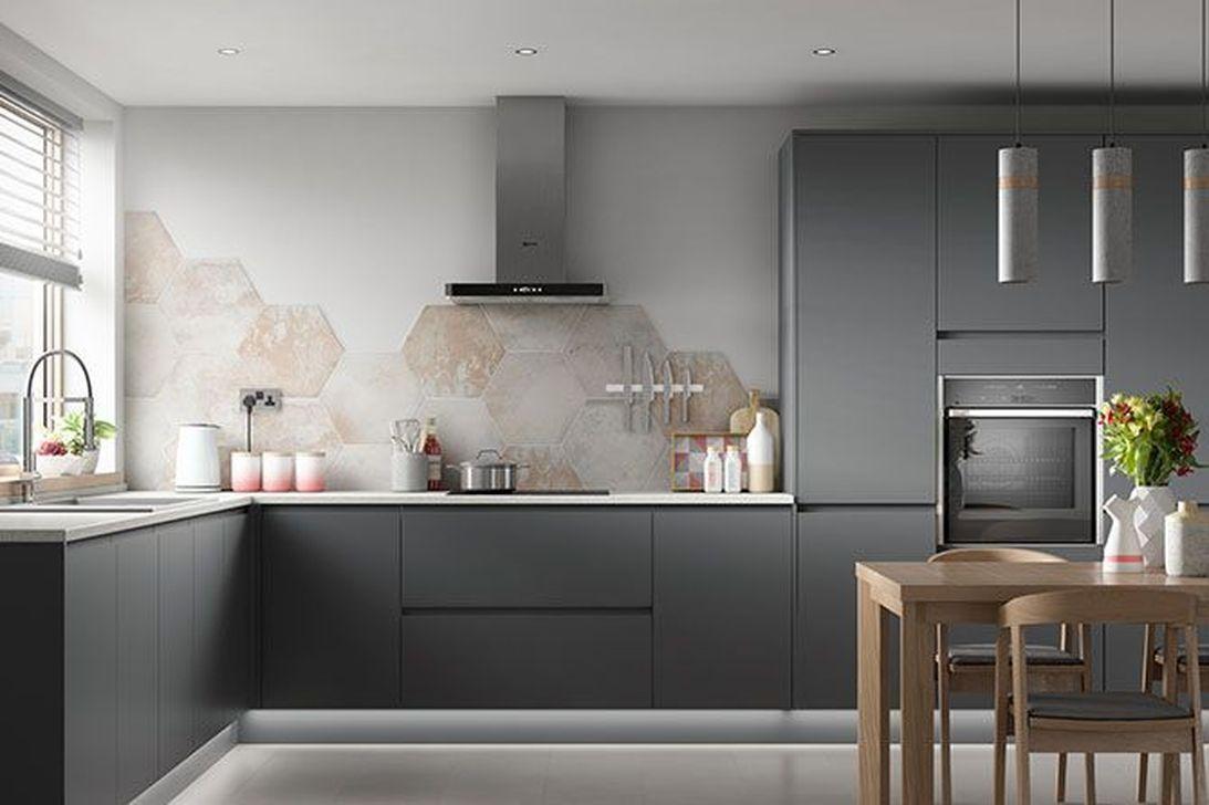 9 Inspiring Dark Grey Kitchen Design Ideas   PIMPHOMEE ...