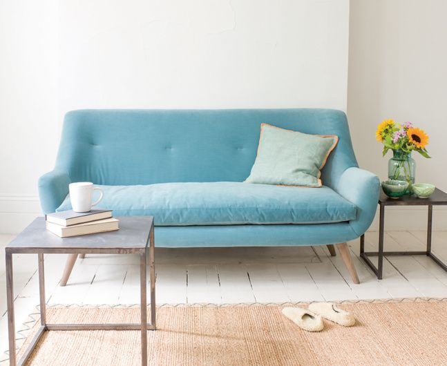 Our Berlin Sofa Was Inspired By A Vintage Piece We Love Its Solid Oak Legs Retro Feel It S Ridiculously Comfy Handmade Skilled Team In Britain