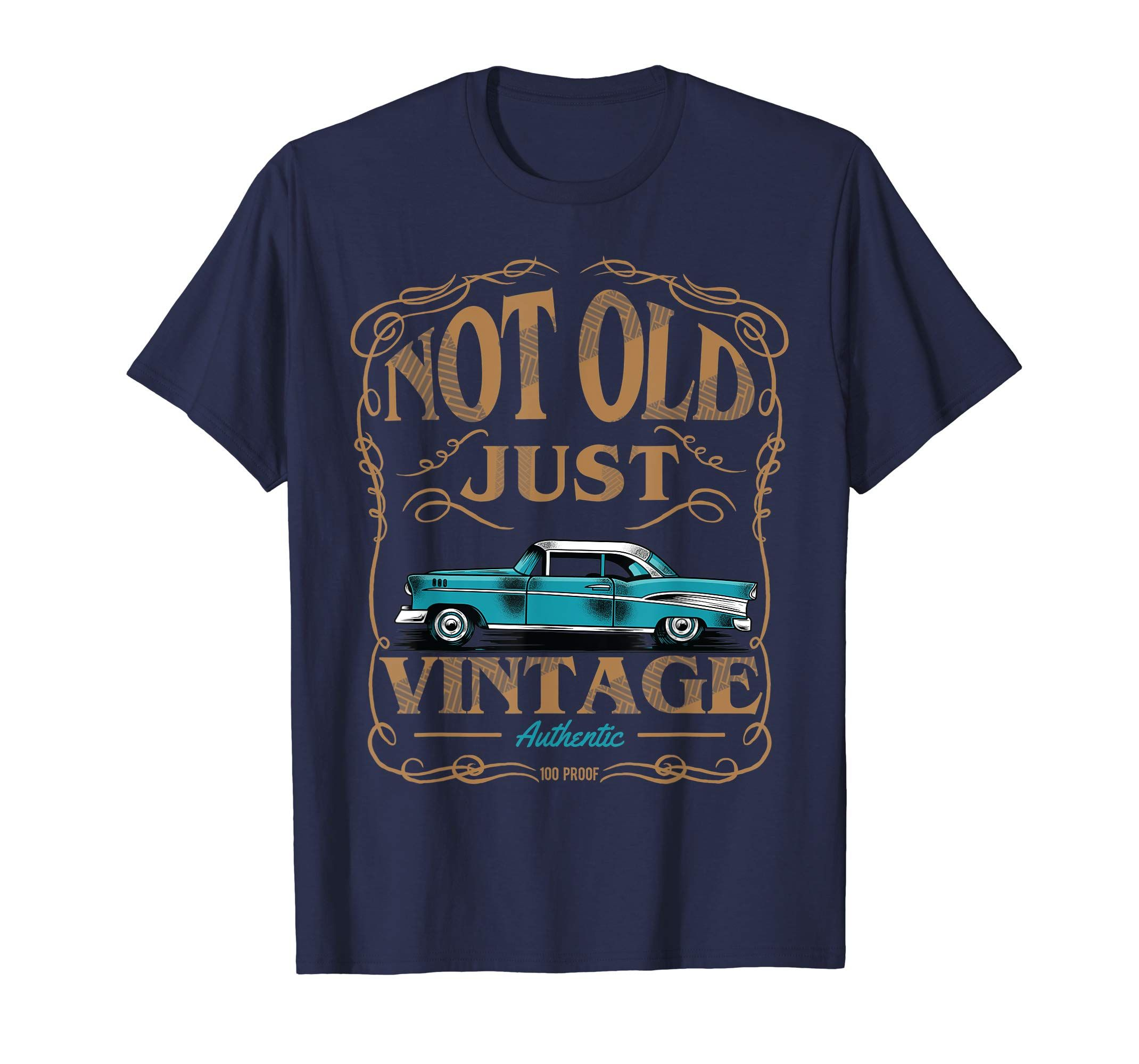 Not Old Just Vintage American Classic Car Birthday Tshirt-Yolotee