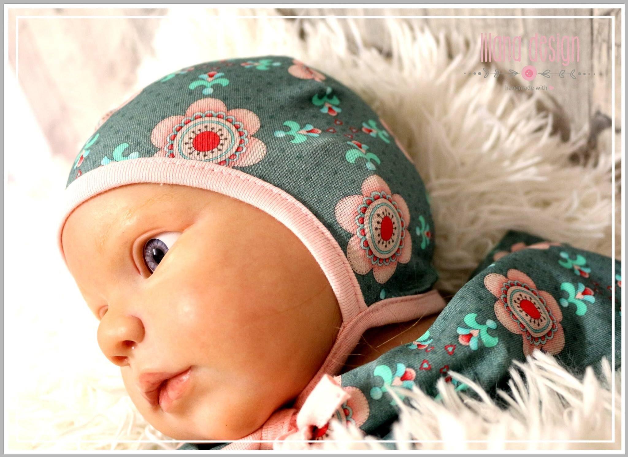 Freebook Käppchen Rockers   Babymütze nähen, Babymütze und Kappe
