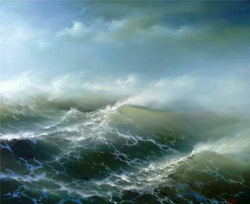 Sergej Lim Ocean Painting Landscape Paintings Seascape Paintings
