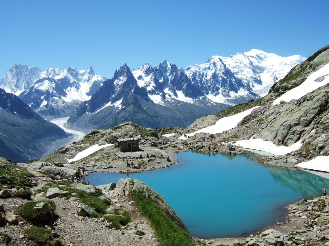 The Grand Balcon is an amazing high trail home to sweeping views of the Mont Blanc massif.