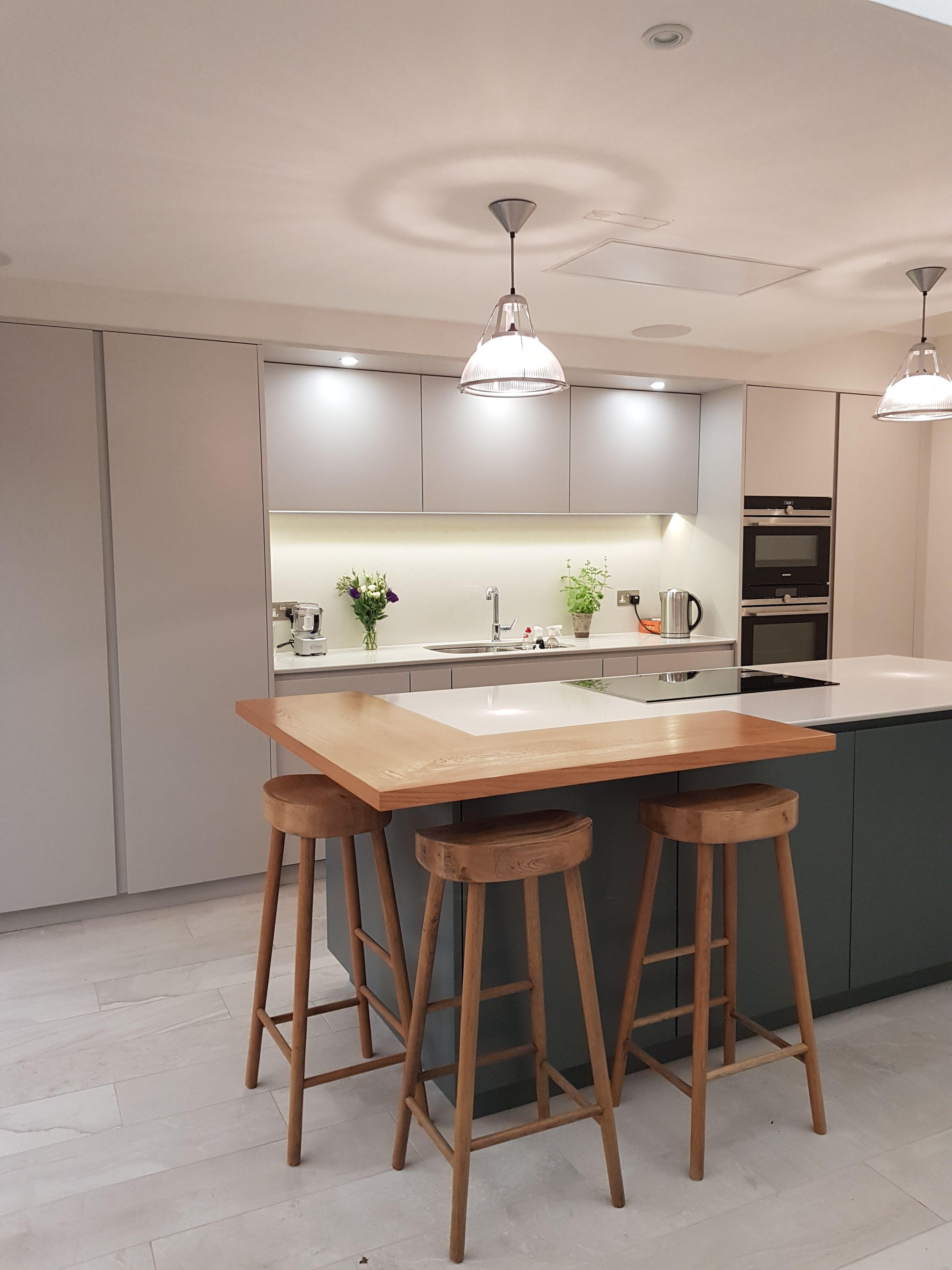 Bespoke contemporary kitchen designed by Arlberry Bespoke ...