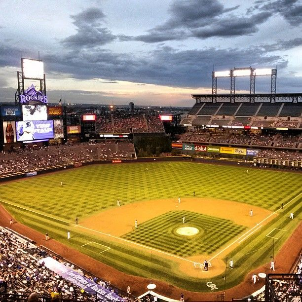 Coors Field. Home Of The Colorado Rockies. GO.