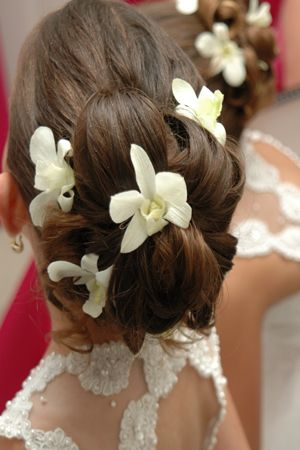 White Dendrobium Orchid Hair Flowers Orchid Hair Flowers White Dendrobium Orchids Flowers In Hair