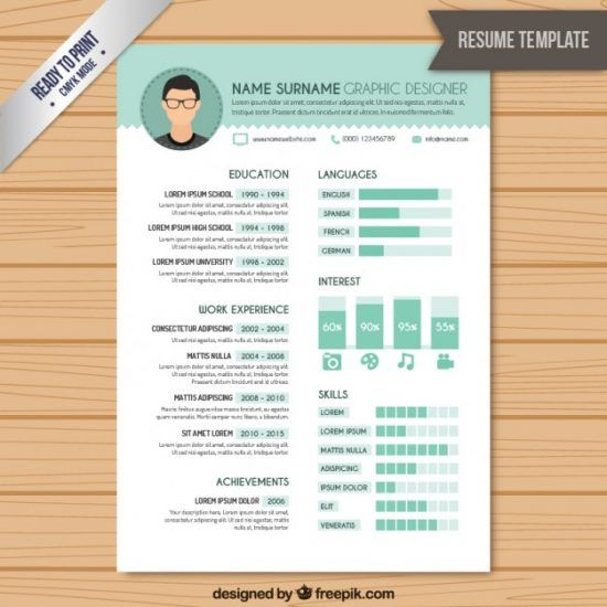 25 best creative resume for graphic designers psd file ideas