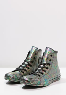 CHUCK TAYLOR ALL STAR RUBBER OIL SLICK - High-top trainers - black -  Zalando.co.uk