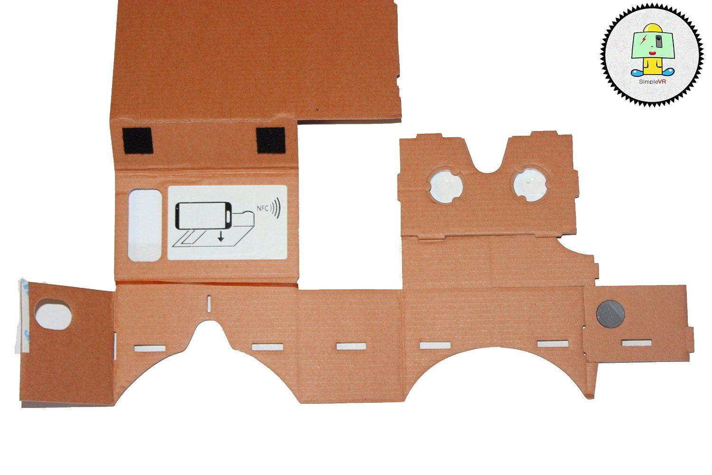 Amazon com: Google Cardboard Vr Kit Clone Simplevr with NFC