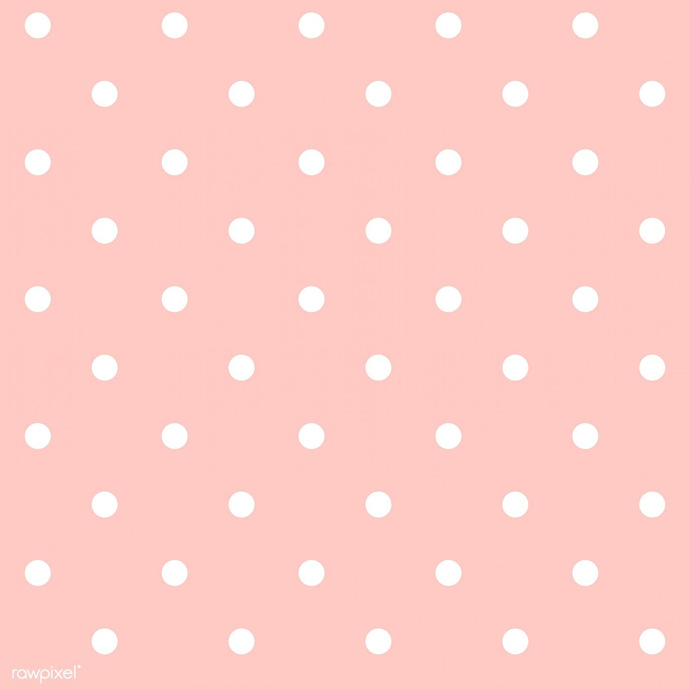 Pastel Pink And White Seamless Polka Dot Pattern Vector Free Image By Rawpixel Co Polka Dots Wallpaper Pastel Pink Wallpaper Iphone Pink Polka Dots Wallpaper