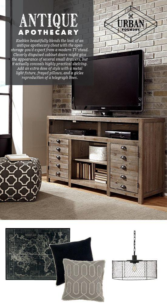 Keeblen Tv Stand Urban Foundry, Ashley Home Furniture Scottsdale