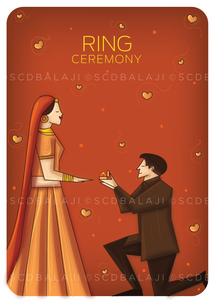 """A glimpse of your wedding in your wedding invite """" Indian weddings ..."""