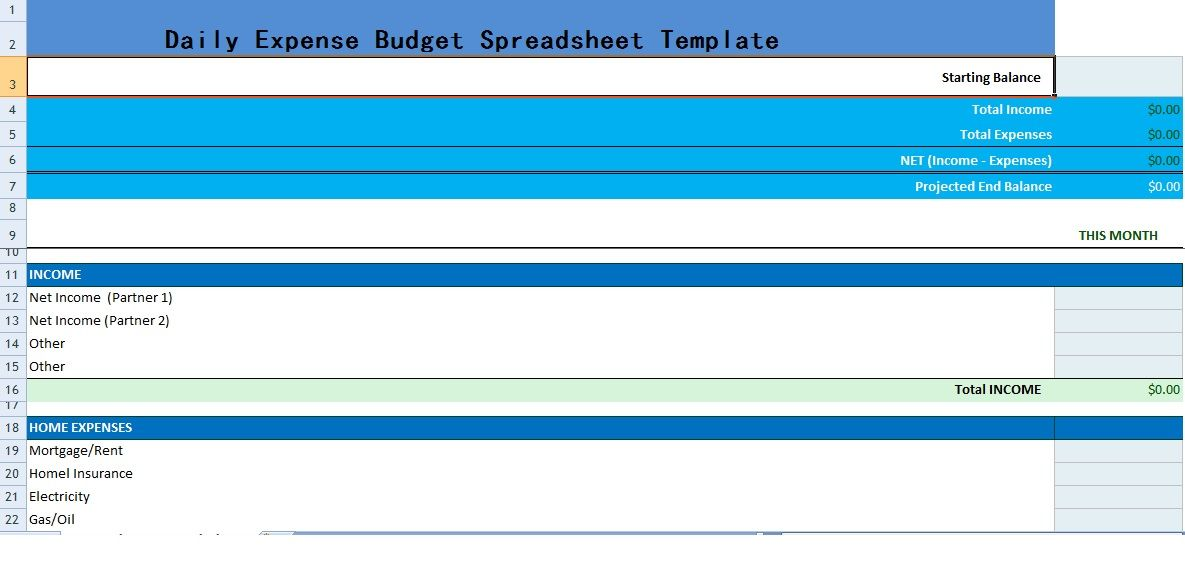 Get Household Monthly Budget Template XLS \u2013 Excel XLS Templates - Wedding Budget Excel Spreadsheet