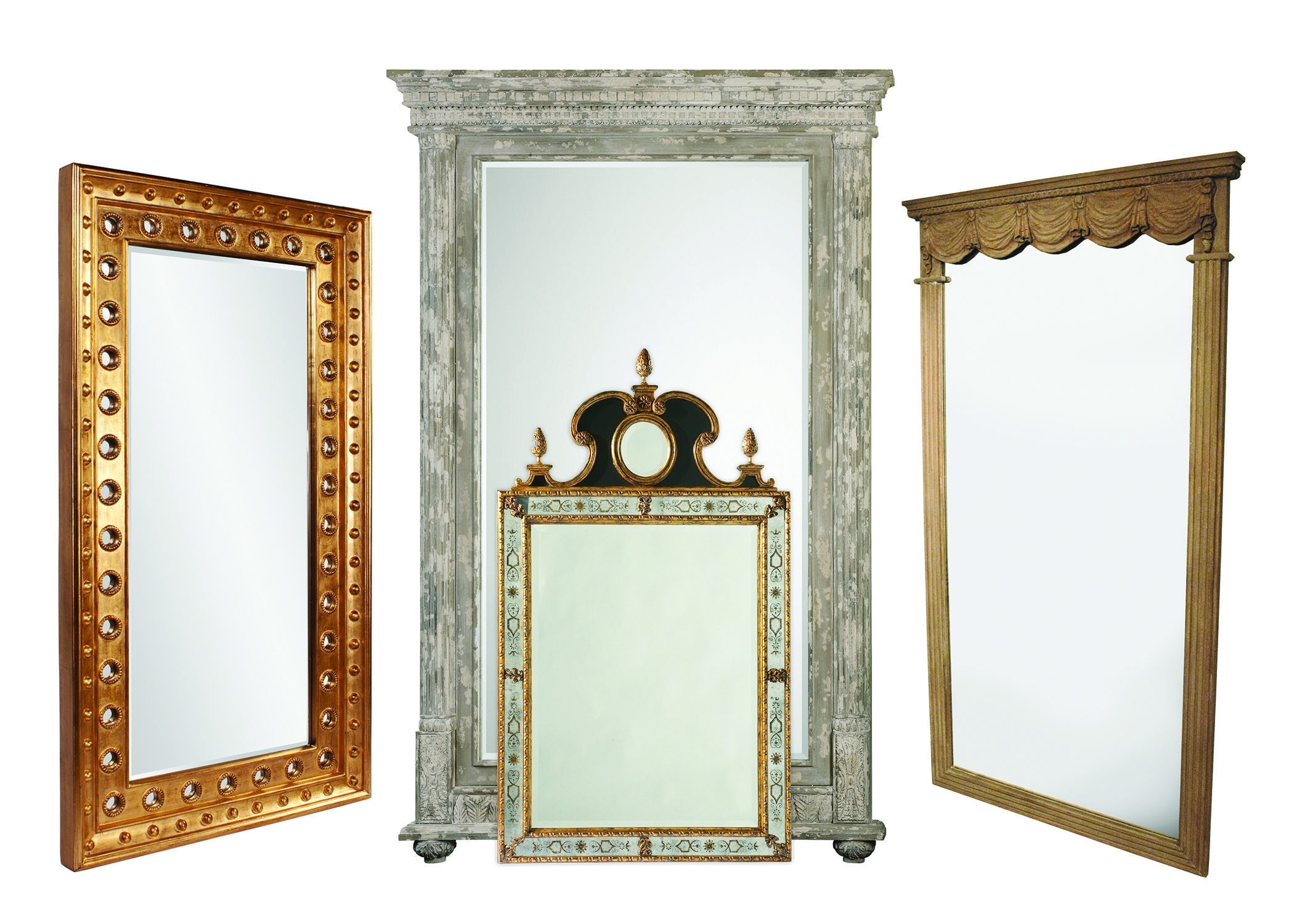 #Mirror, mirror on the wall, on the floor, on the furniture! Donna's Home Furnishings is your destination for the perfect mirror to reflect your personality and style. Visit our showroom to see our fabulous collection of unique mirrors to brighten up your décor.  Which is your favorite?