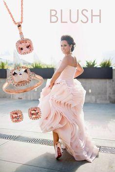allison kaufman rose gold jewelry Rose Gold Glow Pinterest