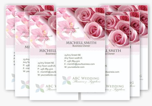 Wedding Business Card Templates In PSD Lugares Para Visitar - Wedding business card template