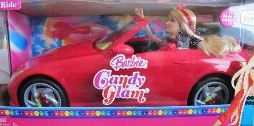 Barbie Candy Glam Sweet Ride Vehicle Amp Doll Set Toysrus