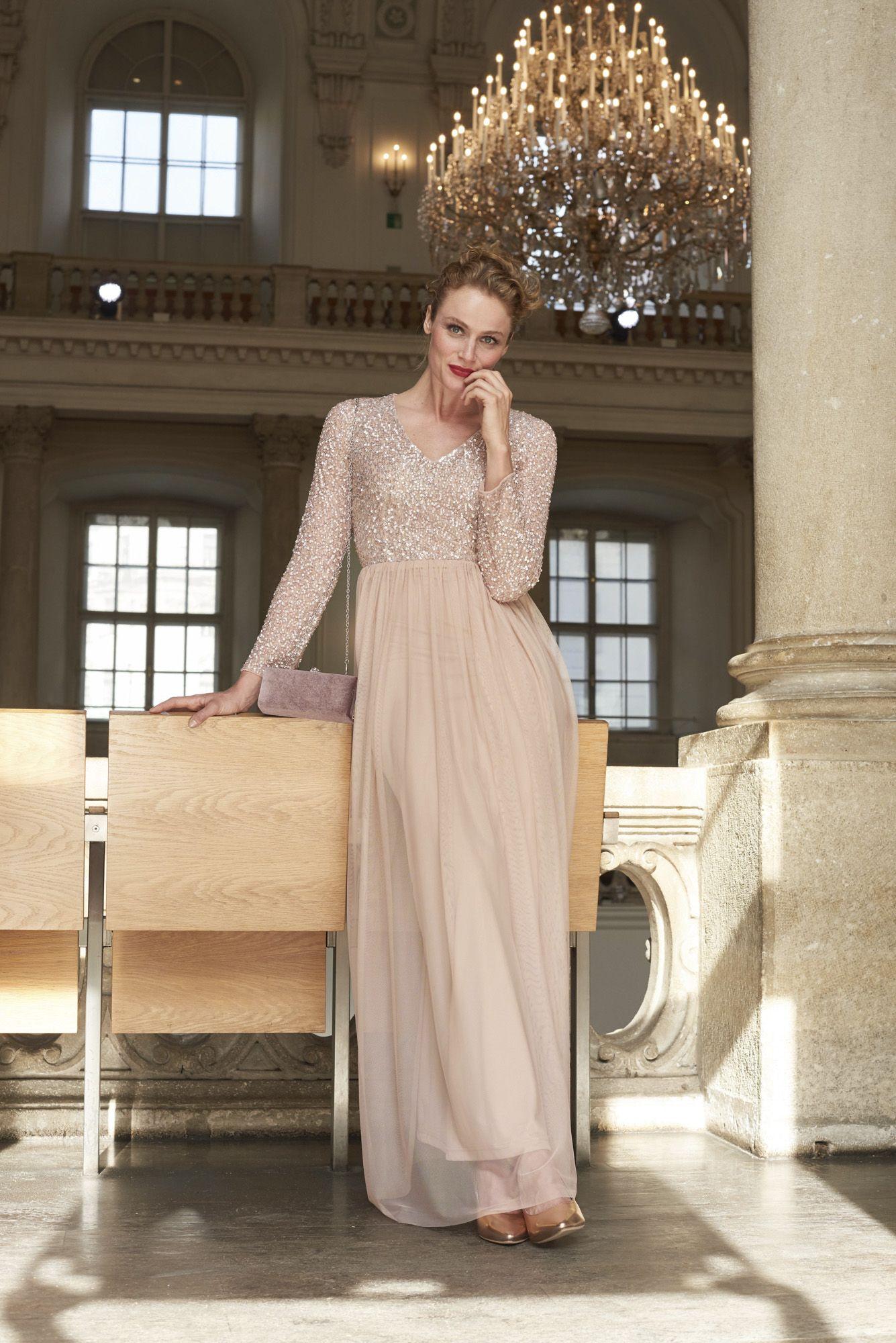 b037cd8bbf37 Abendkleid mit Pailletten   W50-2018-Bekleidung   Online shopping ...