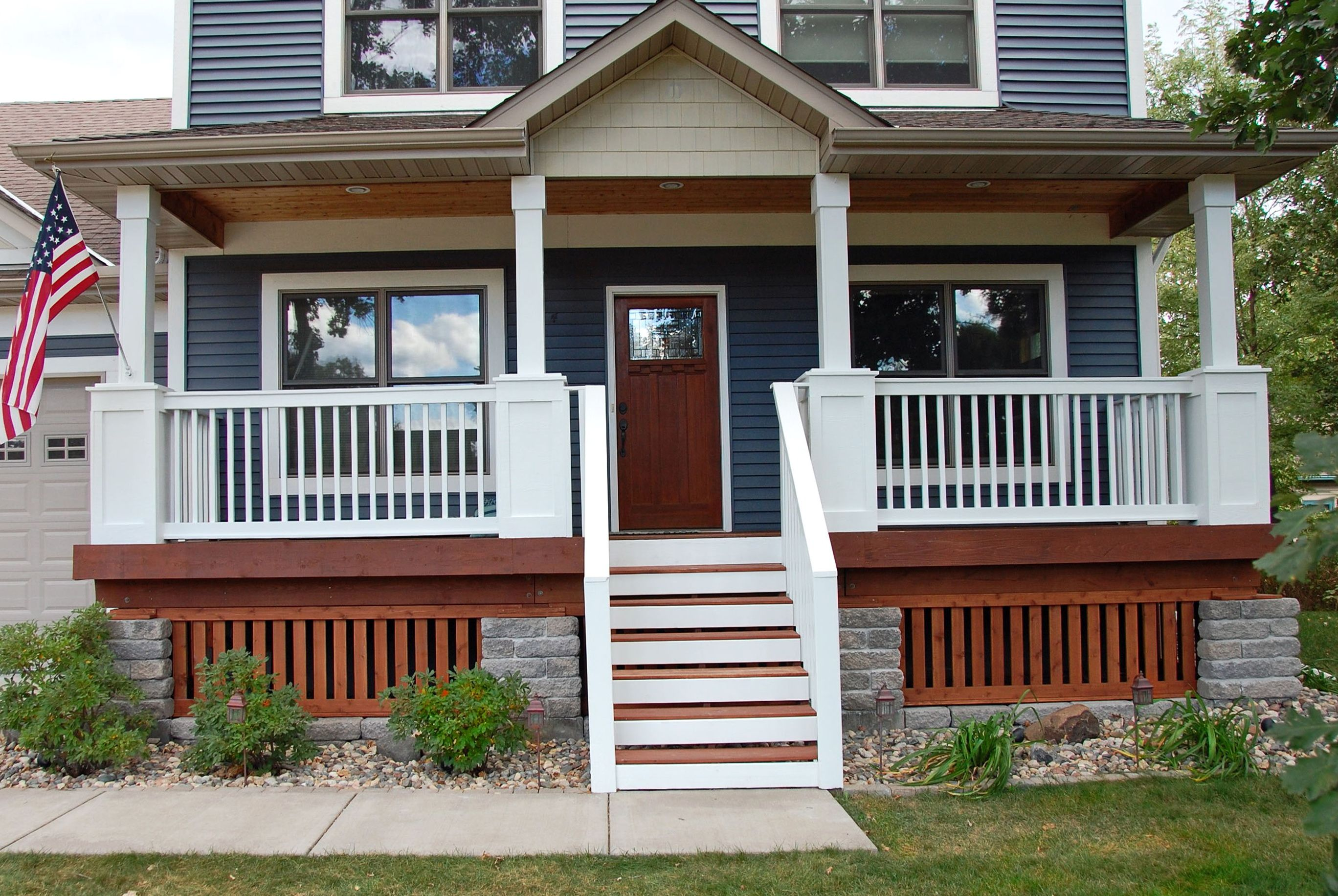 about decks outdoor including porch front gallery pictures ideas railing